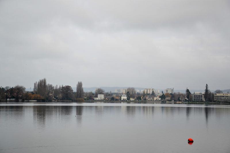 Lac d'Enghien (janvier 2021)