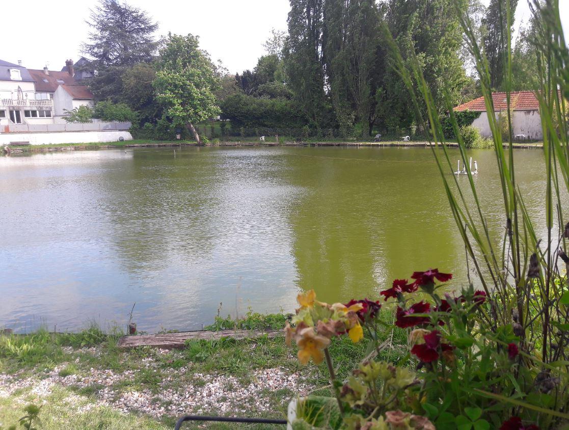Mai 2019 - Le lac Marchais à Deuil-la-Barre> voir article: Le lac Marchais : un havre de paix et un lieu sacré dans la vallée de Montmorency!