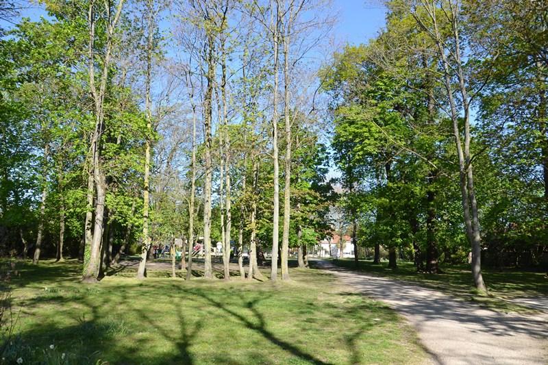 Le parc Barrachin à Saint-Gratien (avril 2021)