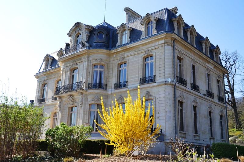 Château de la Tuyolle (hôpital du parc) à Taverny (mars 2021)