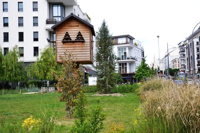 Quartier Ermont-Eaubonne, proche de la gare (mai 2020)