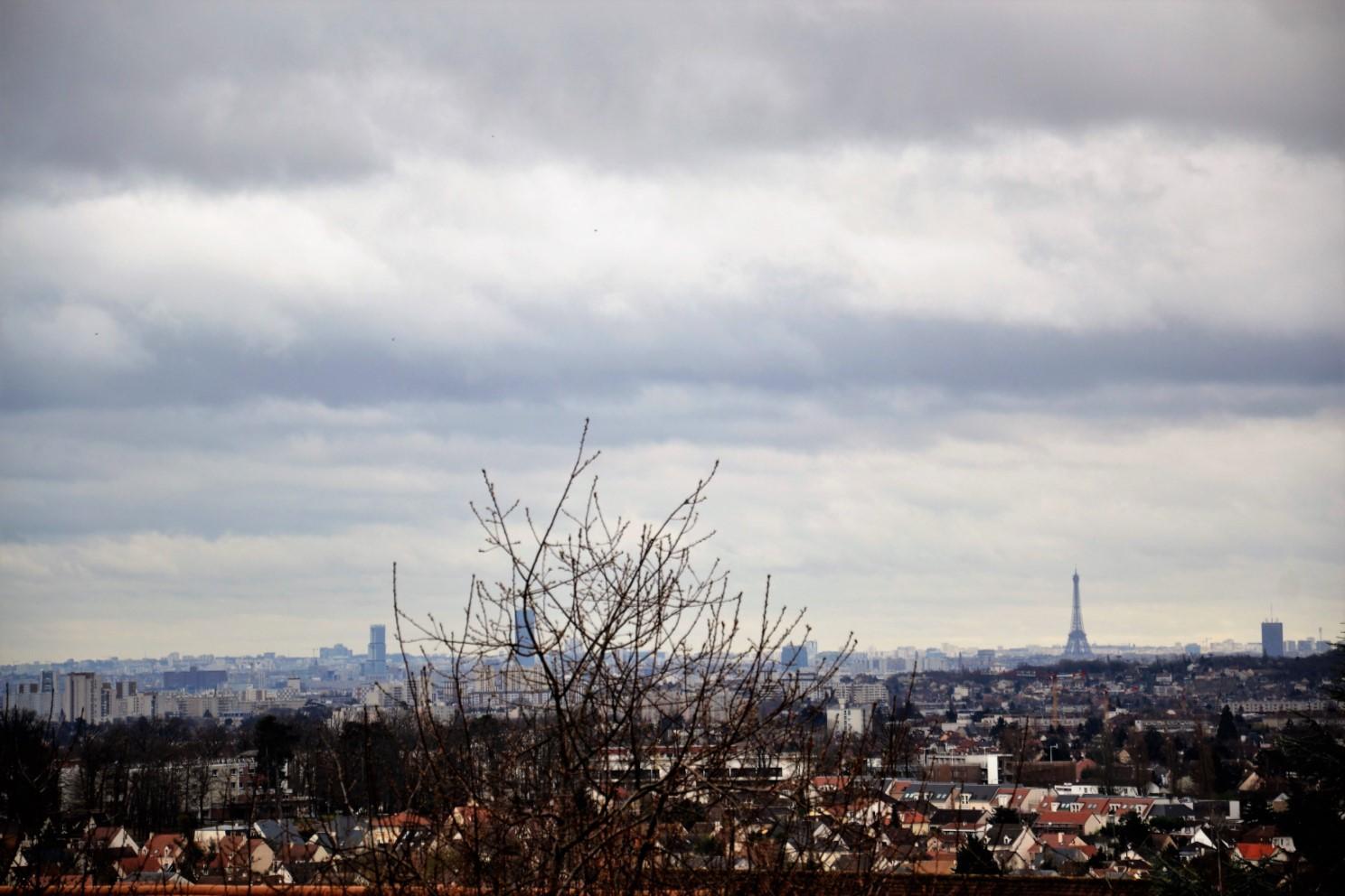Mars 2019 - vue sur Paris depuis Saint-Prix