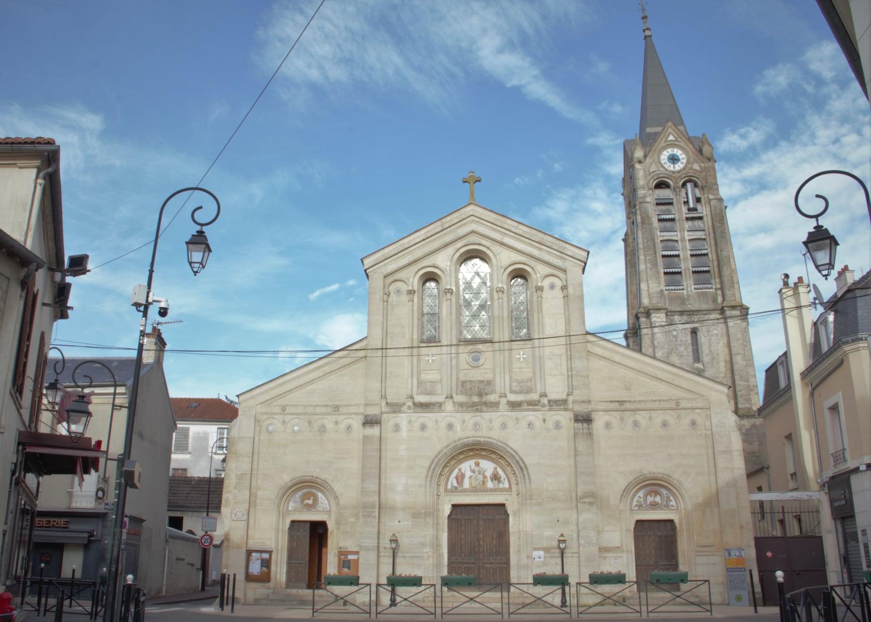 Eglise de Saint-Leu-la-Forêt (photo Patrick Danielou)