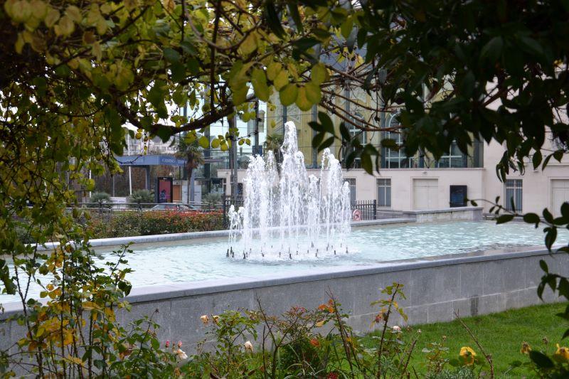 Square de Villemessant à Enghien (janvier 2021)