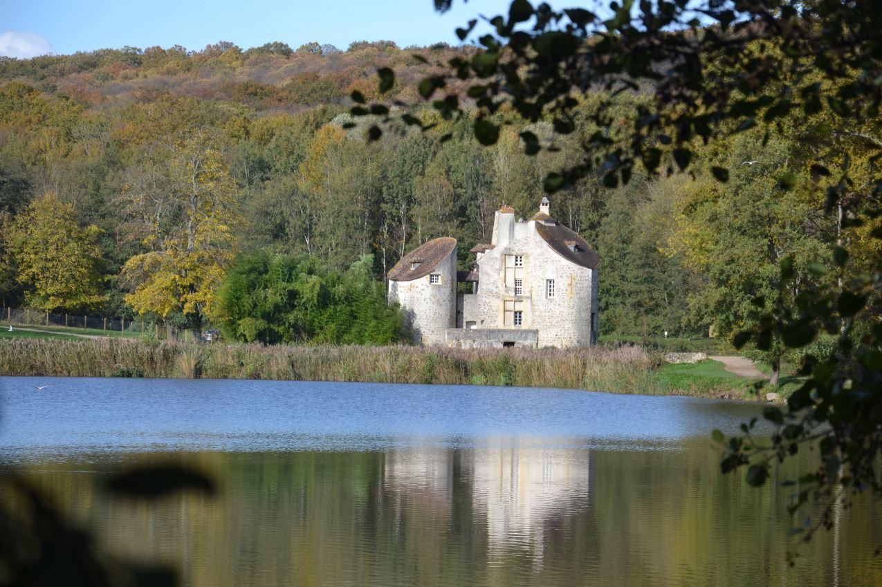 Château de la Chasse dans la Forêt de Montmorency (novembre 2019)