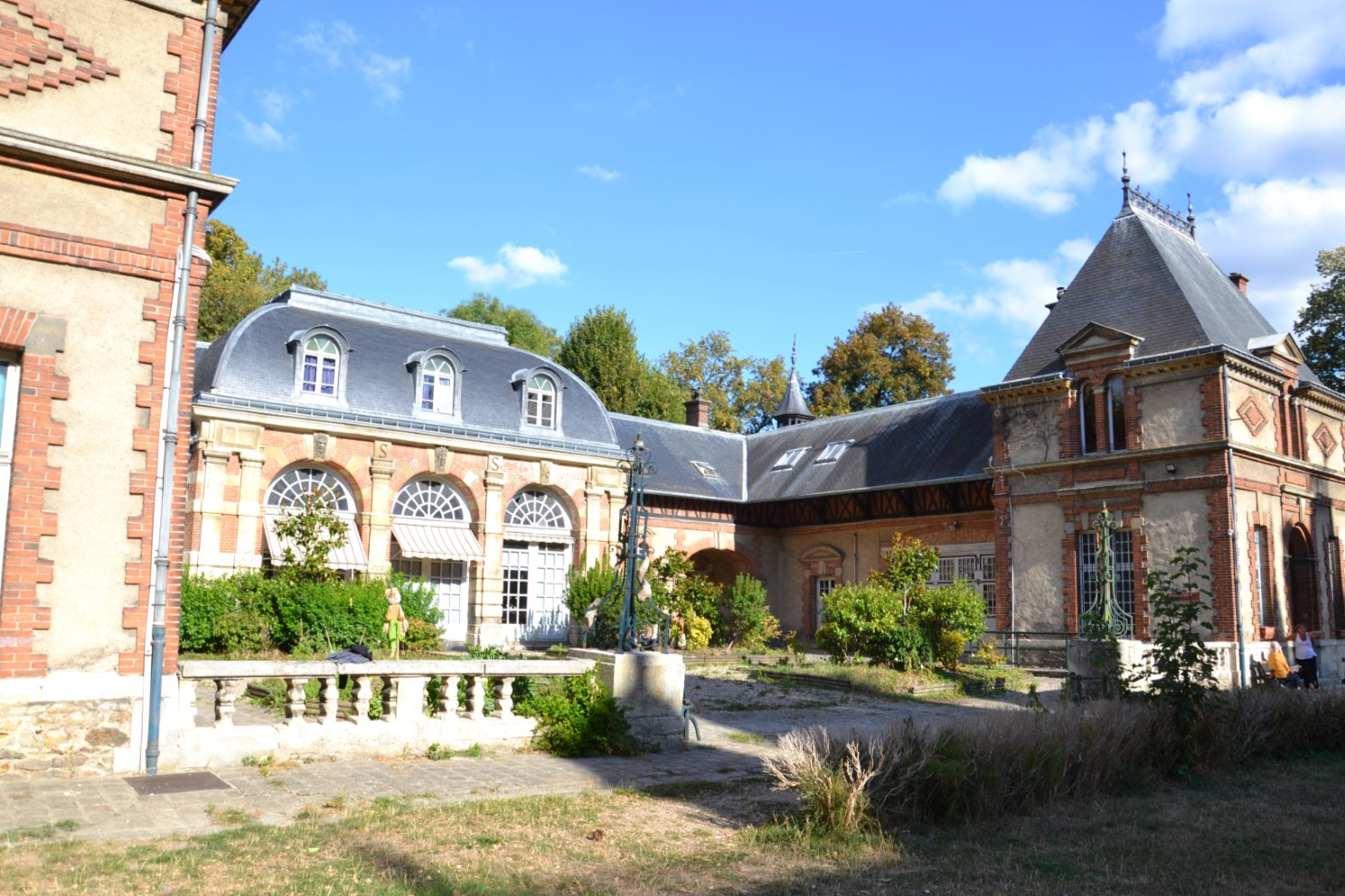 Septembre 2018 - Orangerie du Château du Duc de Dino (lors des Journées du Patrimoine)