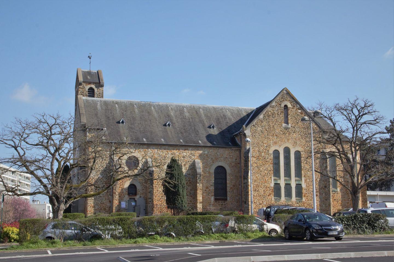 Eglise Sainte-Madeleine à Franconville (mars 2021 - photo de Patrick Danielou)