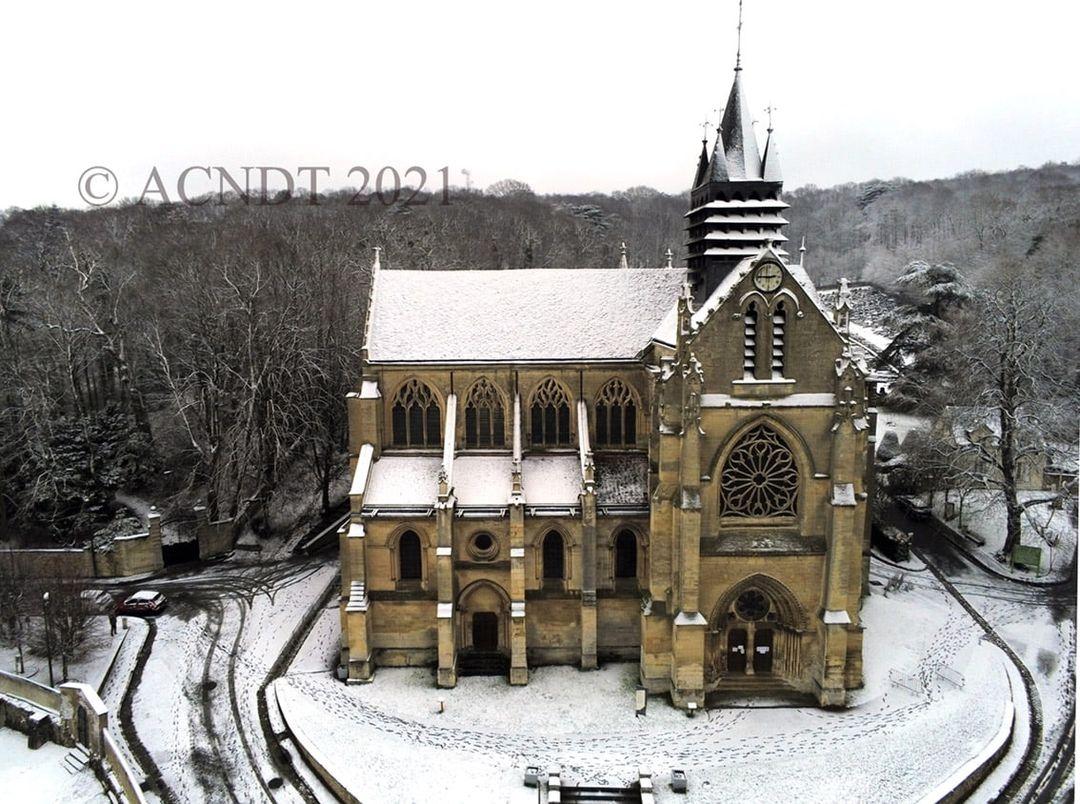 Eglise de Taverny (janvier 2021 - photo de Association Culturelle Notre Dame de Taverny)