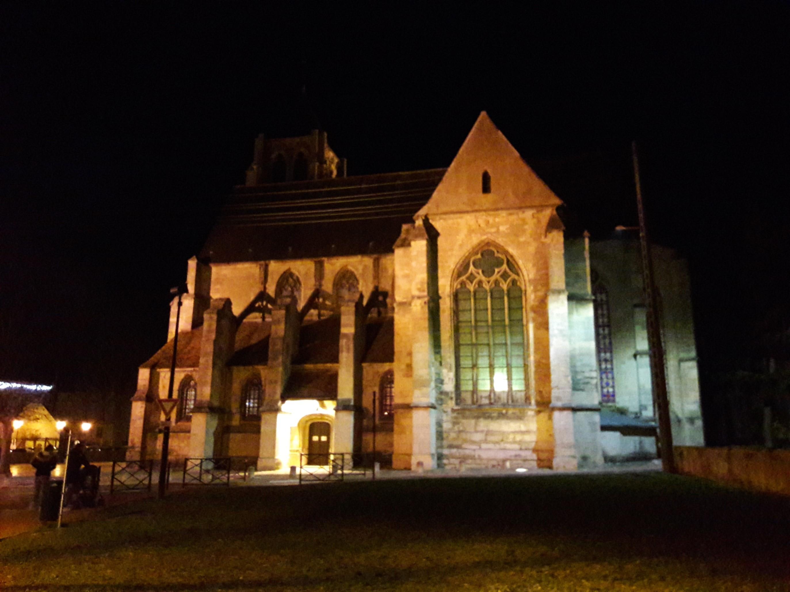 Décembre 2018 - Eglise de Bessancourt illuminée