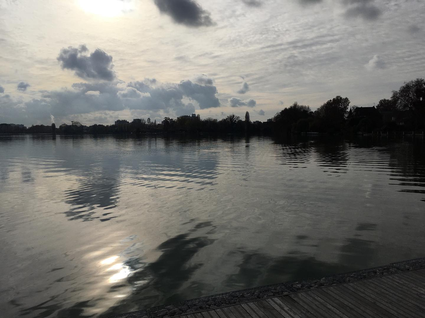 Lac d'Enghien (novembre 2020 - photo de Jean-Marie Brochard)