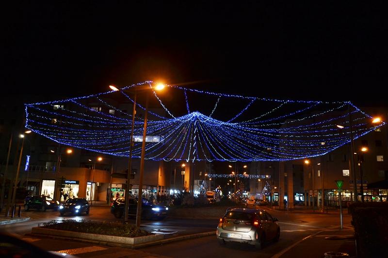 Centre ville à Ermont (décembre 2020)