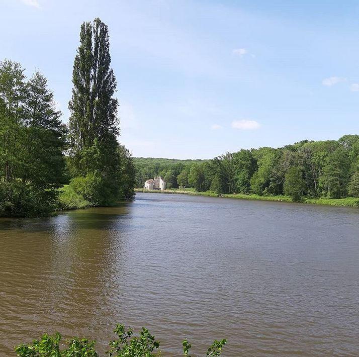L'étang du Château de la Chasse (mai 2020 - photo de François Paget)