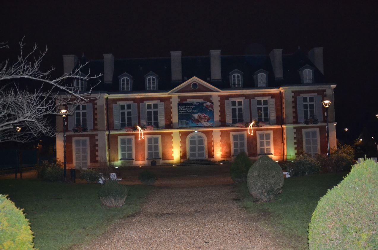Illuminations à Saint-Gratien - château de Catinat (décembre 2019)