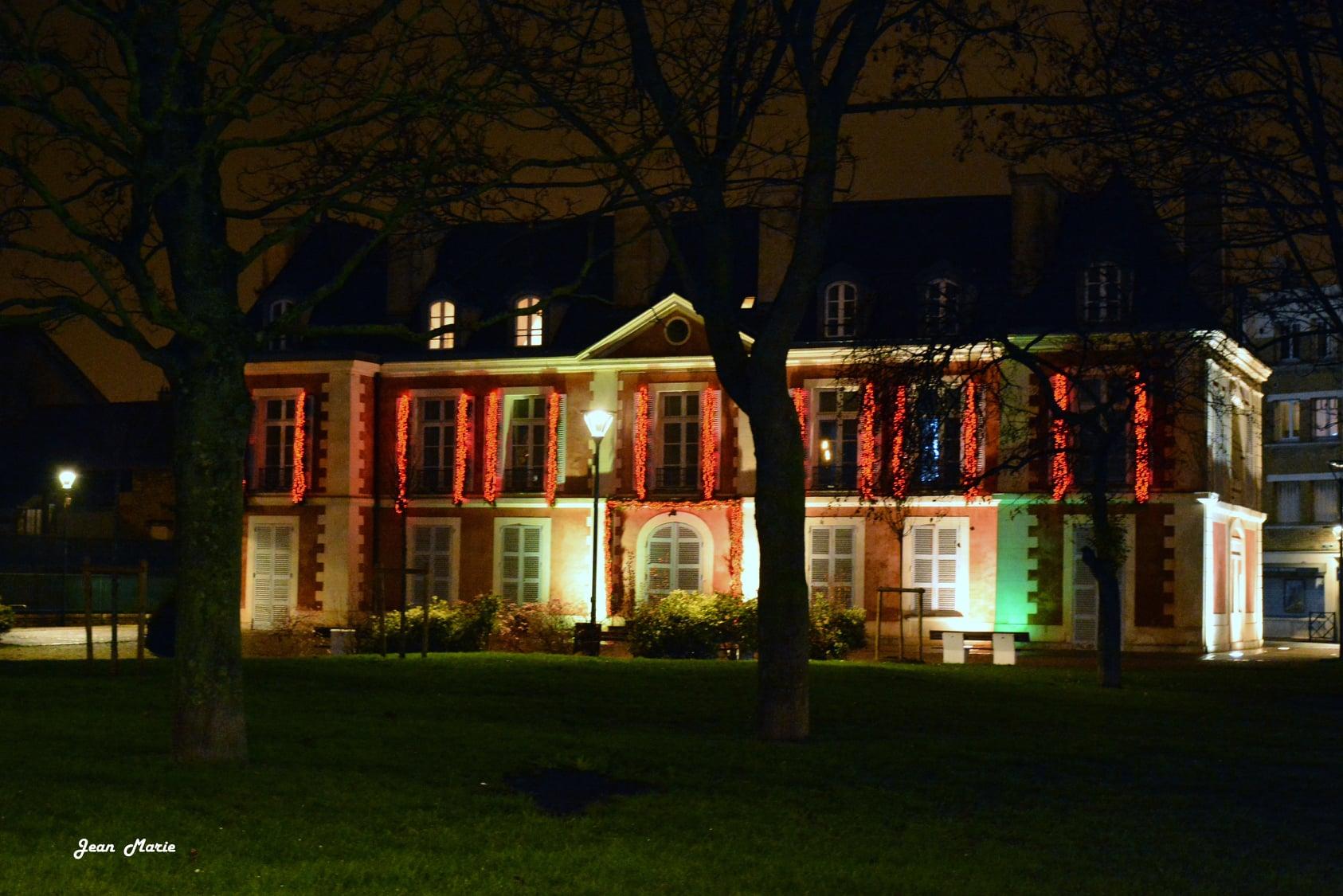 Le Château Catinat à Saint-Gratien (décembre 2020 - photo de Jean-Marie Perdrial))