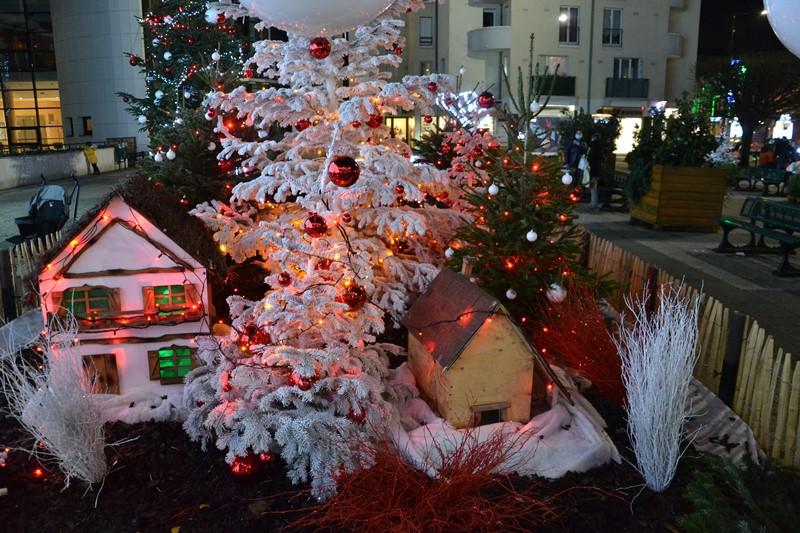 Illuminations de Noël à Sannois (décembre 2020)