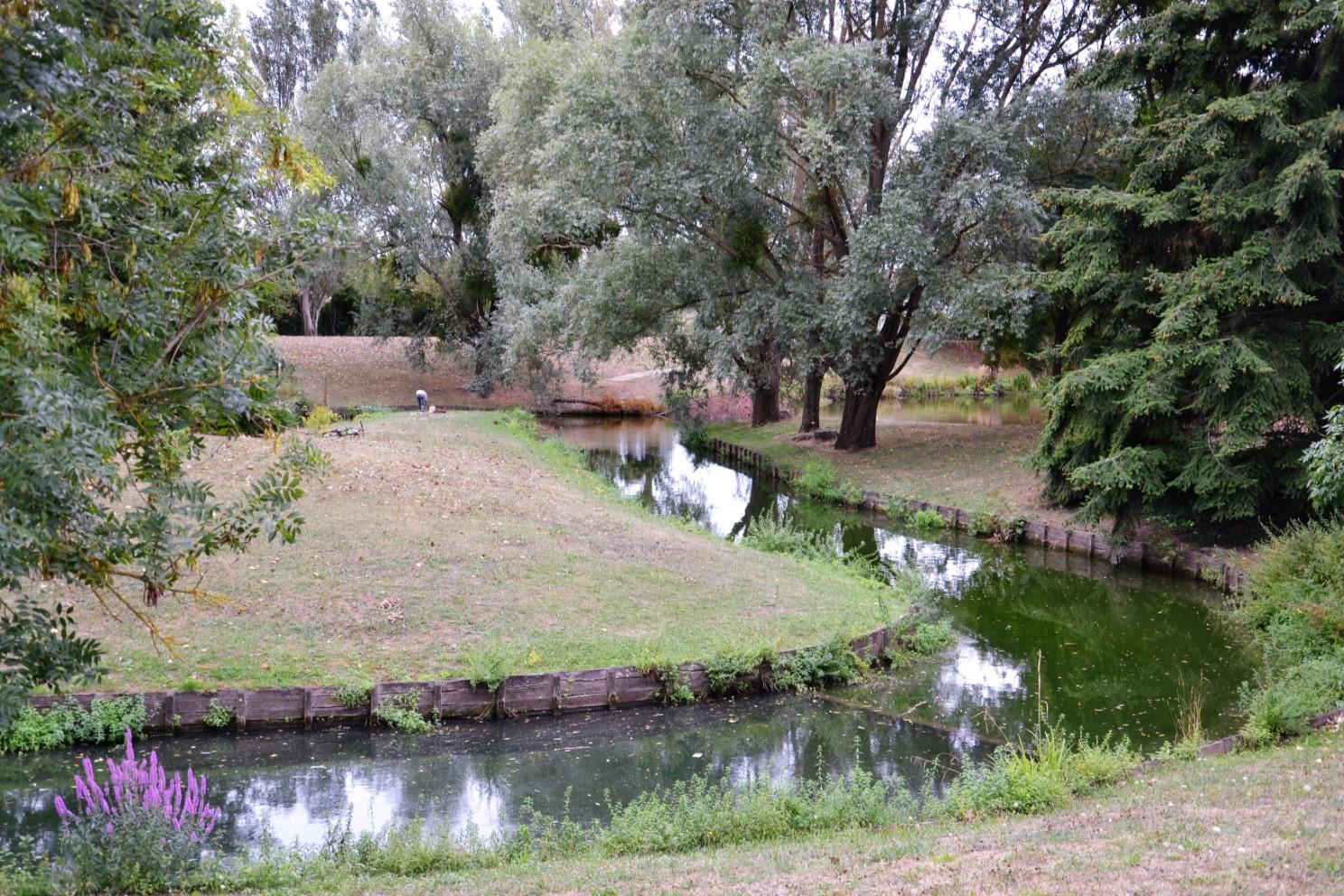 Setembre 2018 - Le parc des Huit Arpents à Andilly