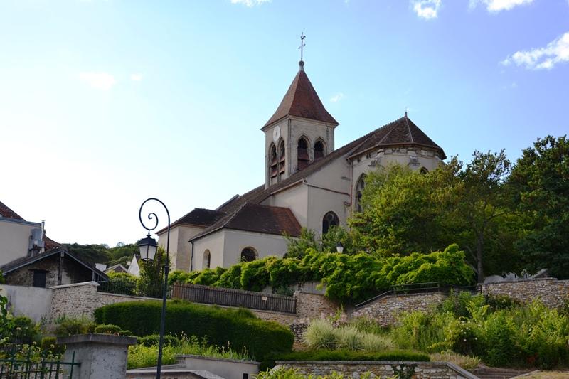L'église de Saint-Prix (juin 2020)