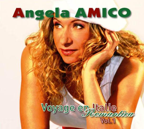 CD Angela Amico - conception Christian Delagrange